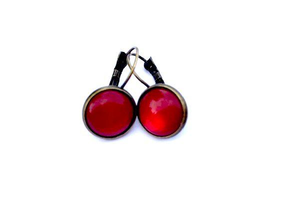 Oorhanger Rood scarlet