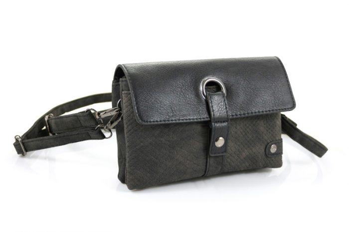 Bosch zwart heup schoudertasje