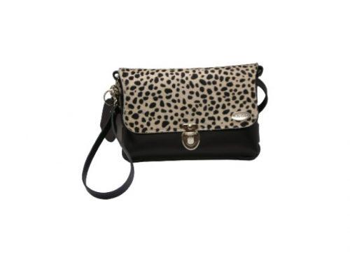 Bella tas zwart cheetah